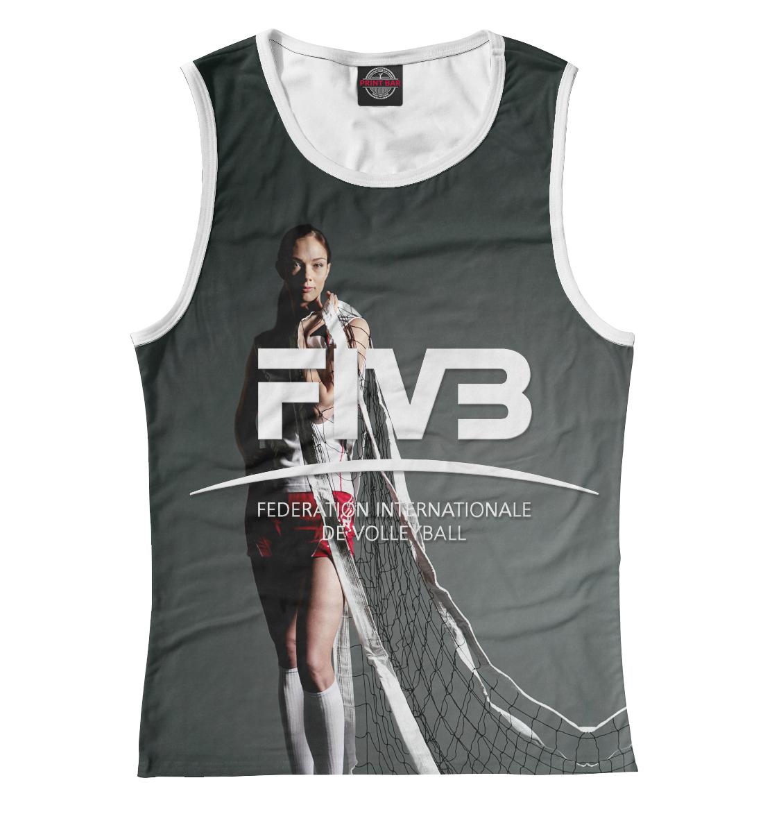 Купить FIVB, Federation Internationale de Volleibal, Printbar, Майки, VLB-429693-may-1
