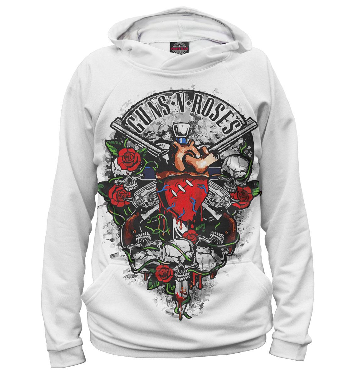 Купить Guns N' Roses, Printbar, Худи, GNR-168036-hud-1