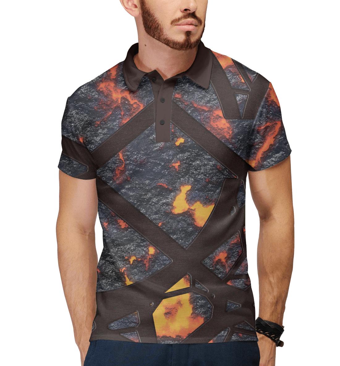 Купить Огненная одежда для хипстера, Printbar, Поло, HIP-884810-pol-2