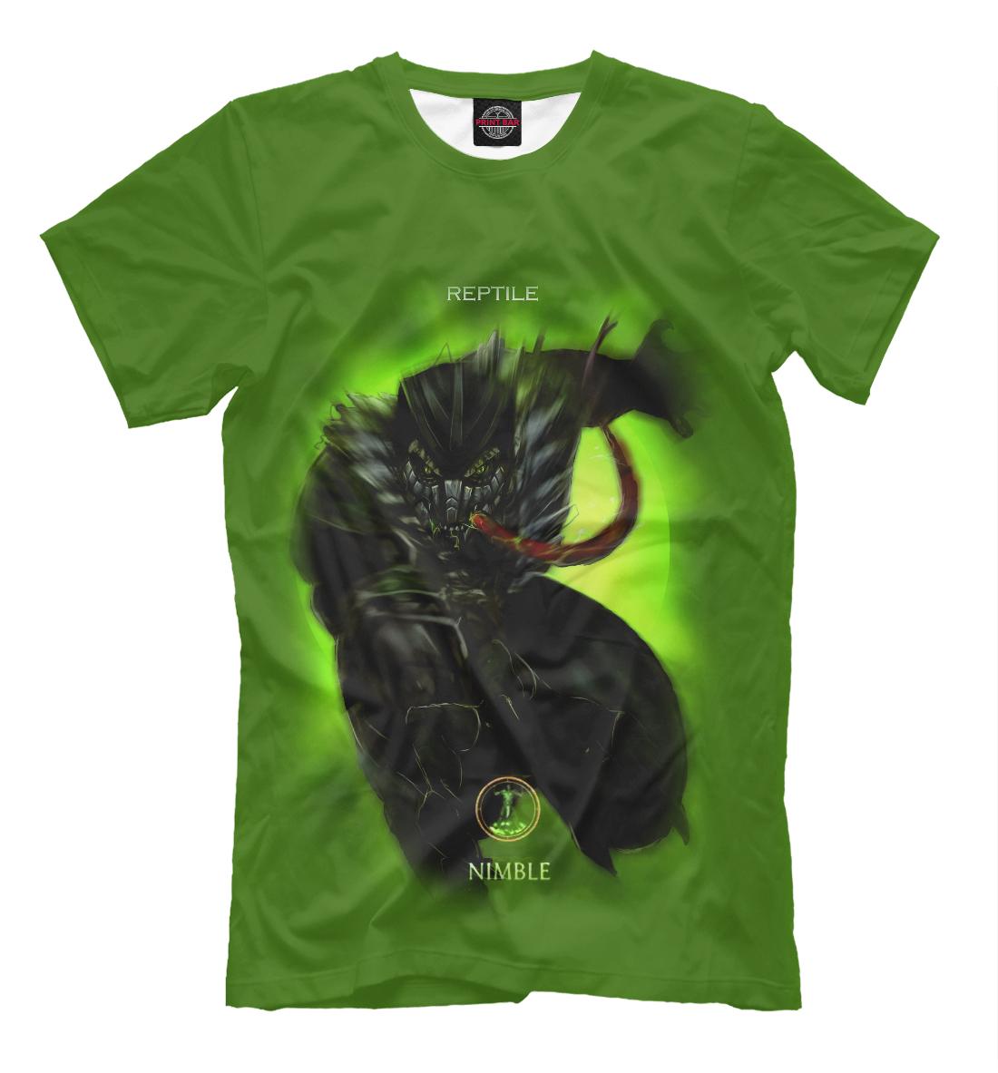 Купить Reptile, Printbar, Футболки, MKB-943175-fut-2