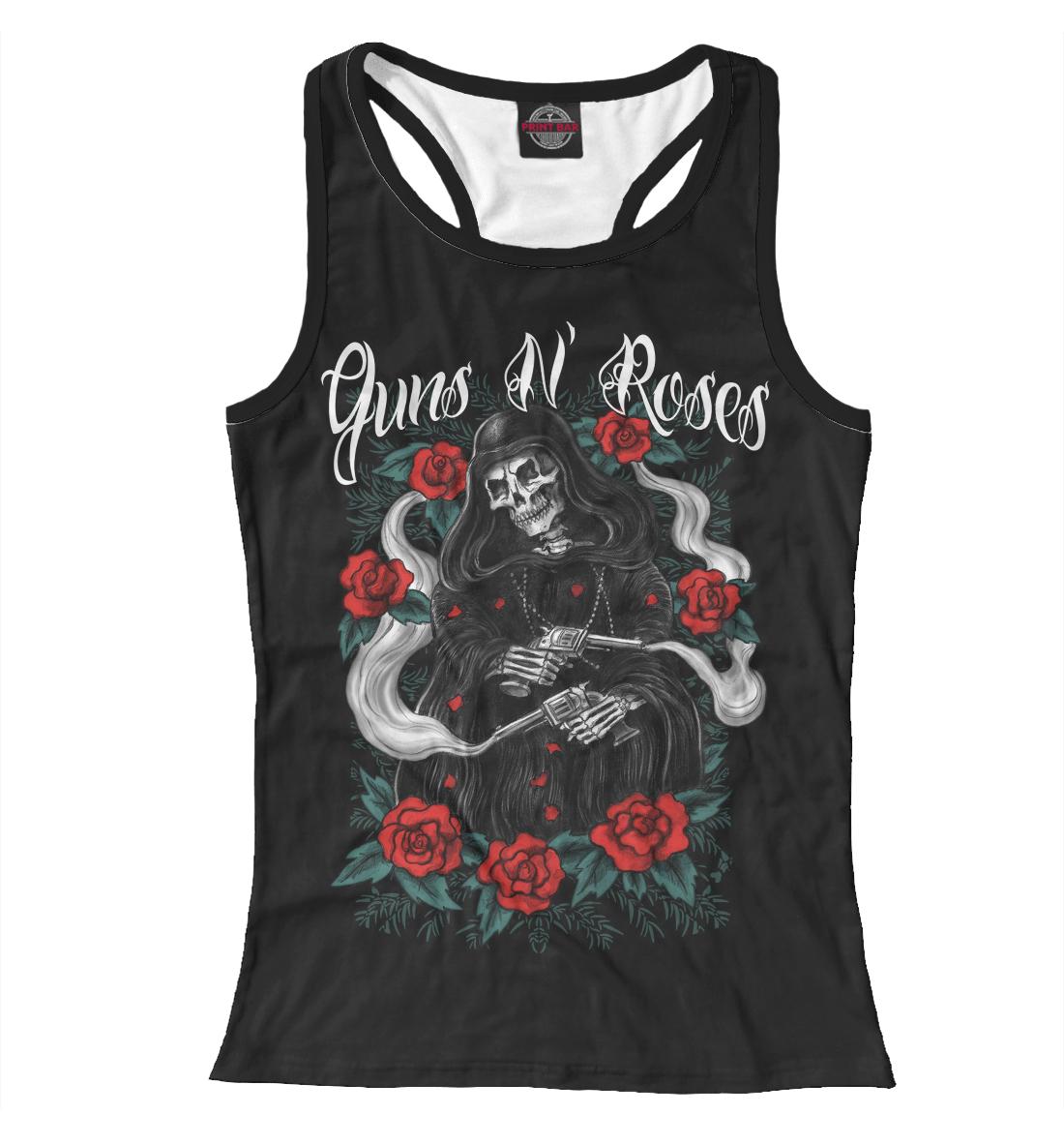 Купить Guns N'Roses, Printbar, Майки борцовки, GNR-447619-mayb-1