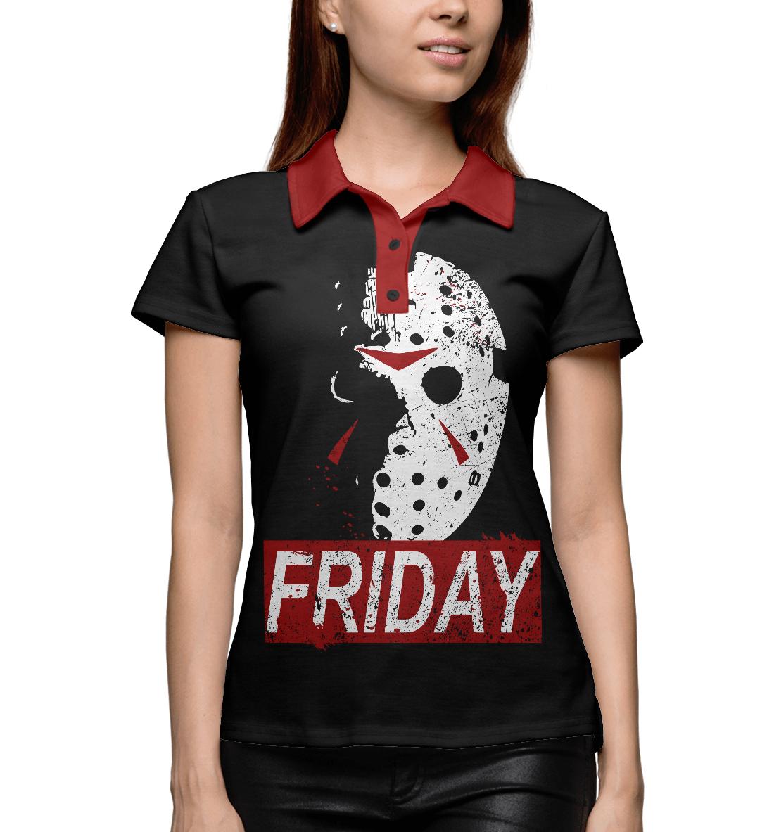 Купить Friday Jason, Printbar, Поло, HOR-834049-pol-1