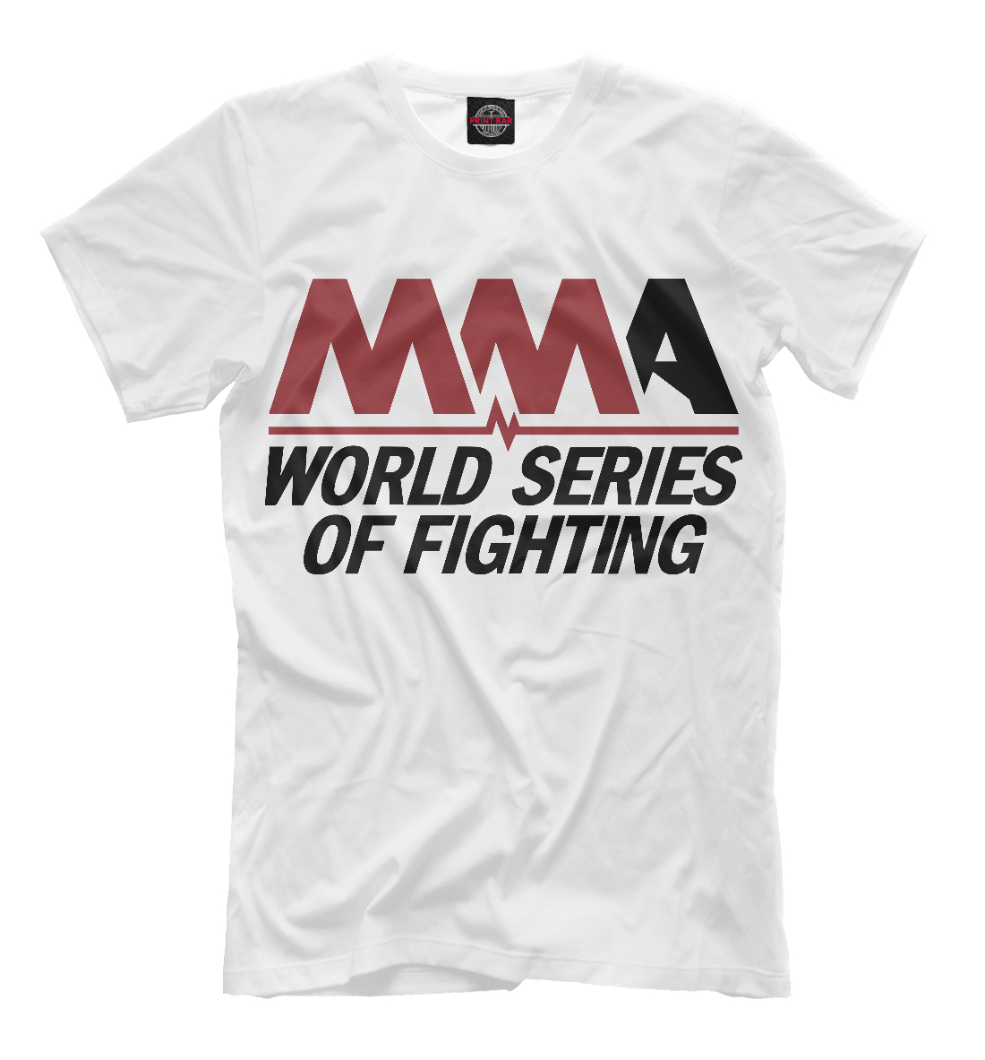 Купить MMA World Series Of Fighting, Printbar, Футболки, MNU-873955-fut-2