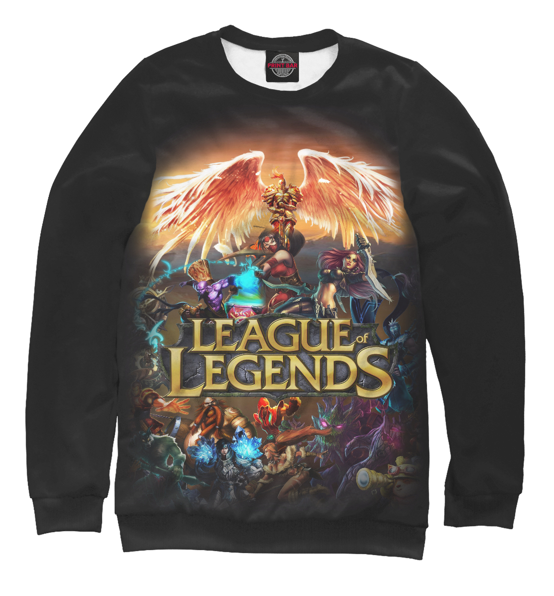 Купить League of Legends, Printbar, Свитшоты, LOL-452278-swi-2