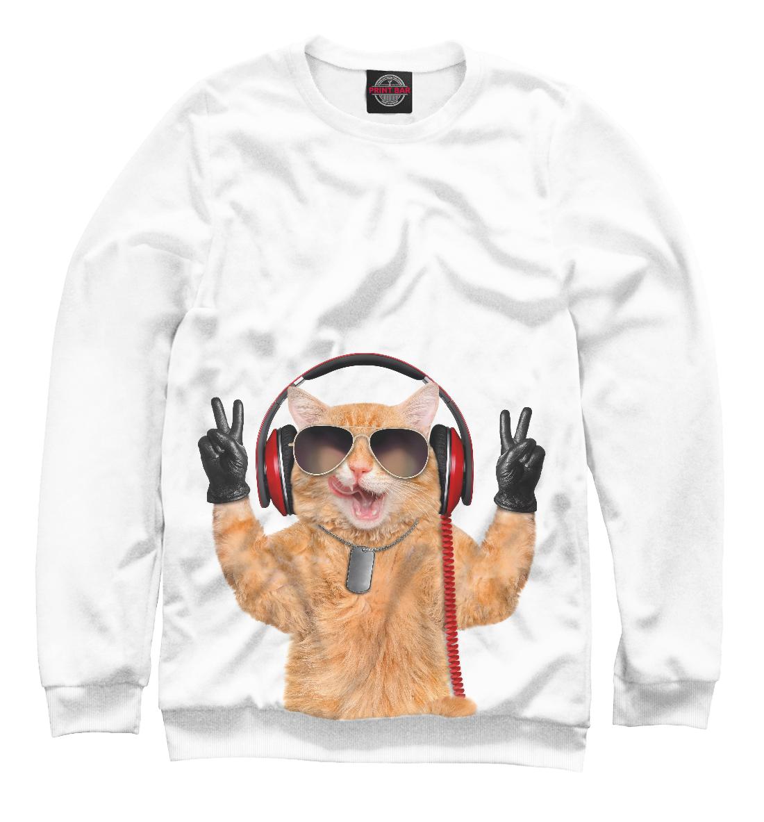 Фото - Кот в наушниках кот в портале