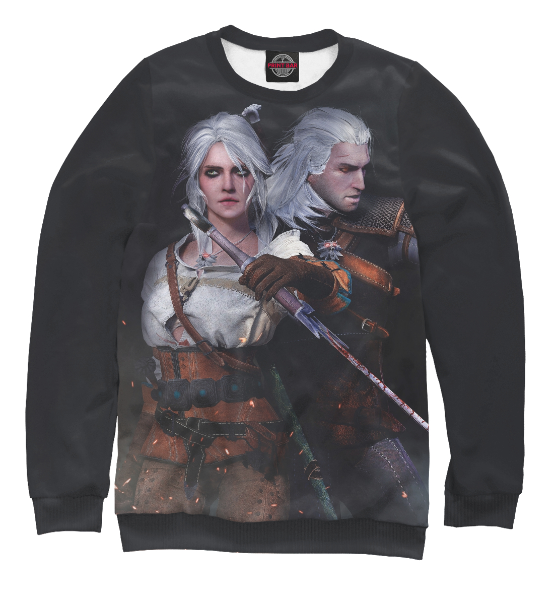 Купить The Witcher 3: Wild Hunt, Printbar, Свитшоты, WTR-189082-swi-2