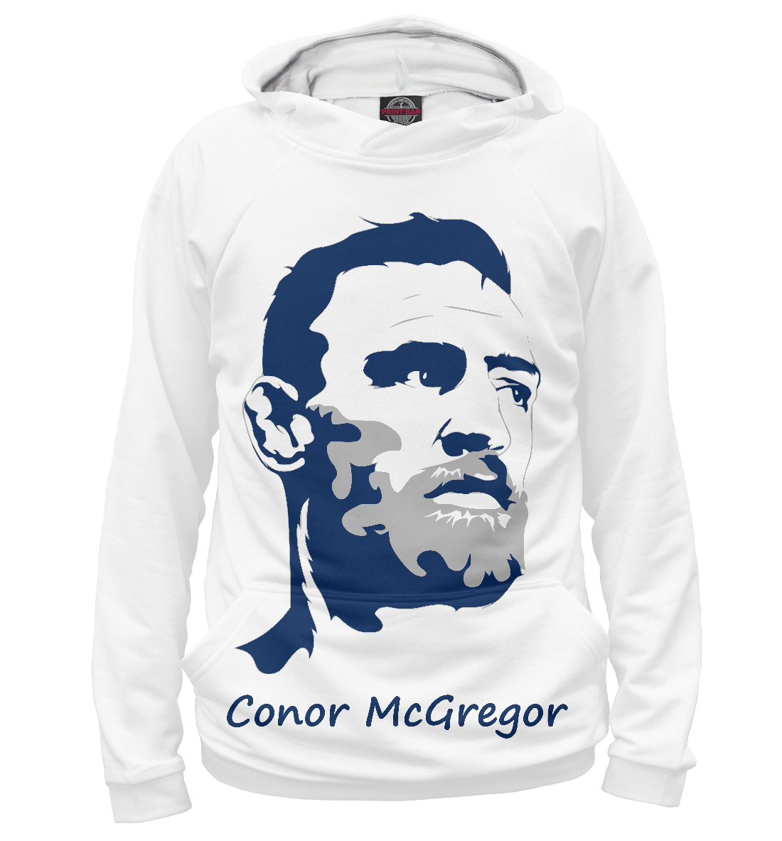 Купить Conor McGregor, Printbar, Худи, MCG-945511-hud-1