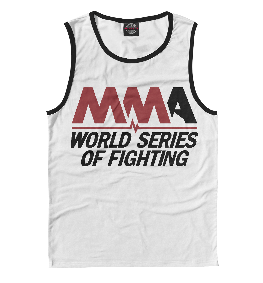 Купить MMA World Series Of Fighting, Printbar, Майки, MNU-873955-may-2
