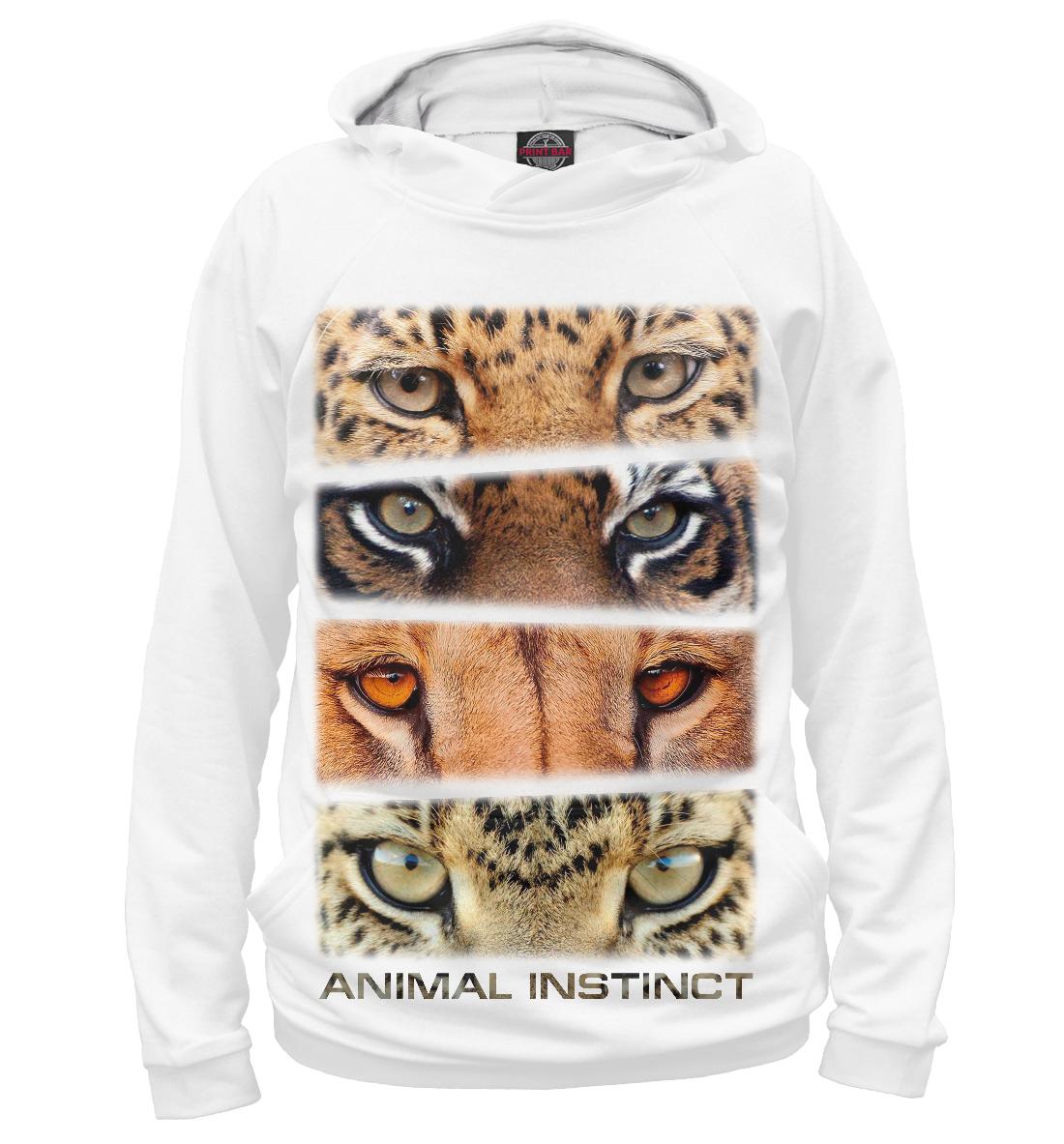 Купить Animal instinct, Printbar, Худи, HIS-871868-hud-2