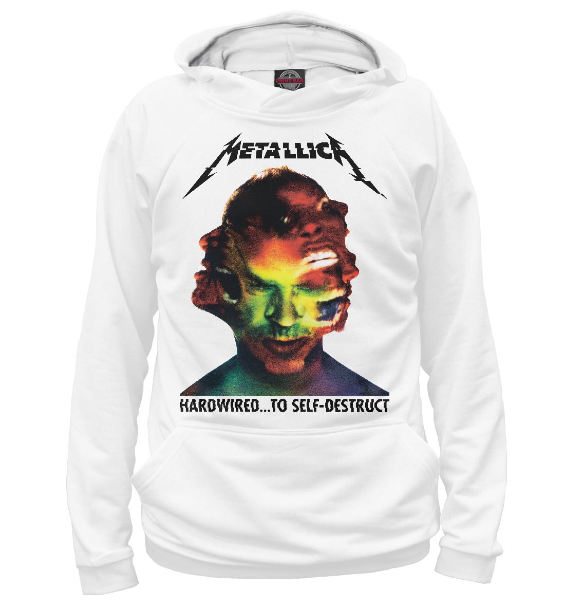Купить Metallica Hardwired, Printbar, Худи, MET-373083-hud-2
