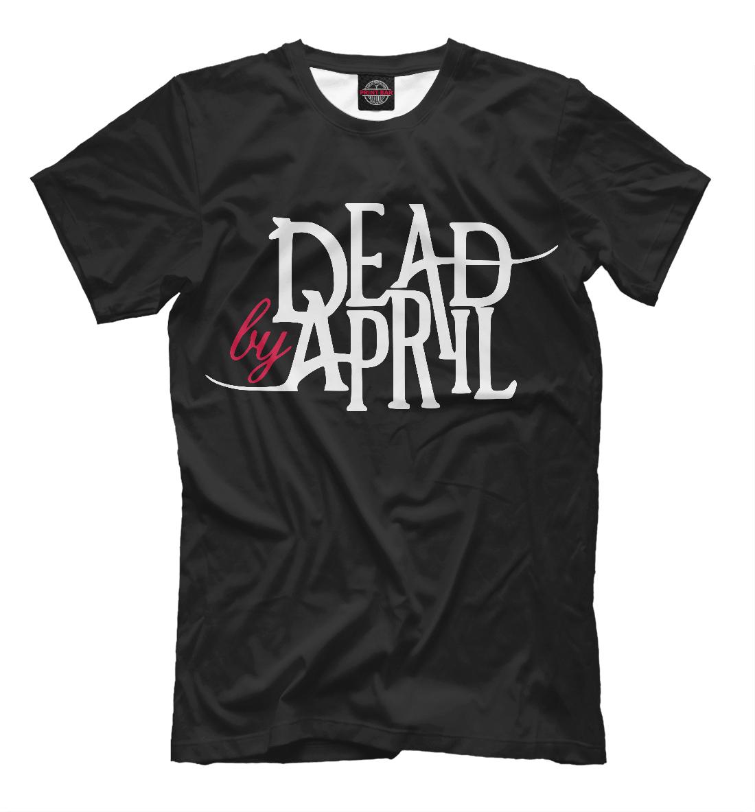 Купить Dead by April, Printbar, Футболки, MZK-706185-fut-2