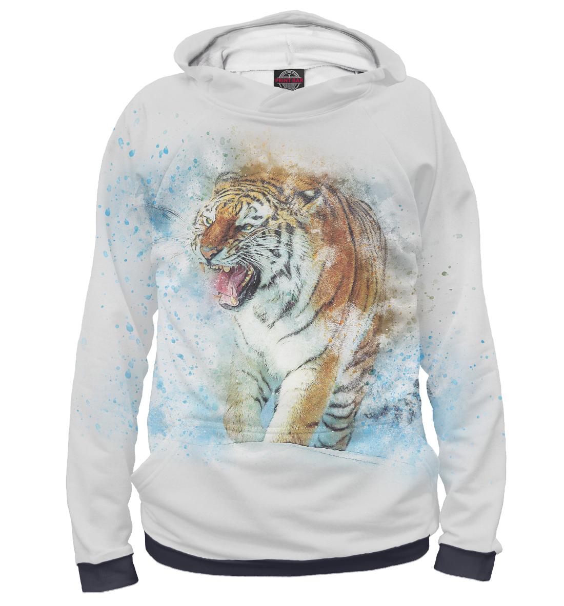 Фото - Тигр в красках кот в красках