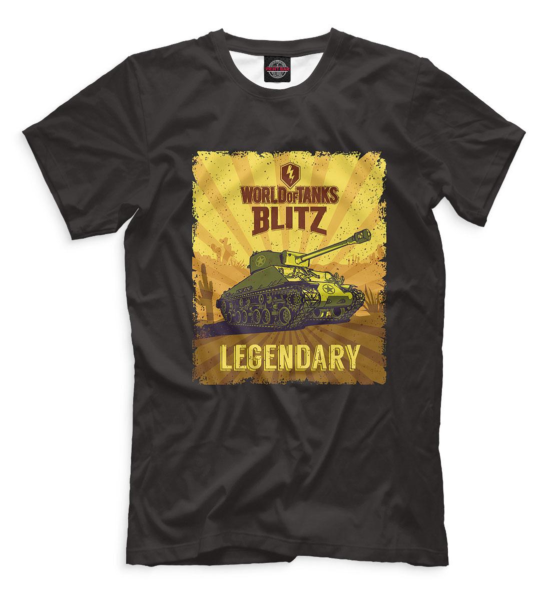Купить World of Tanks Blitz, Printbar, Футболки, WTB-595724-fut-2