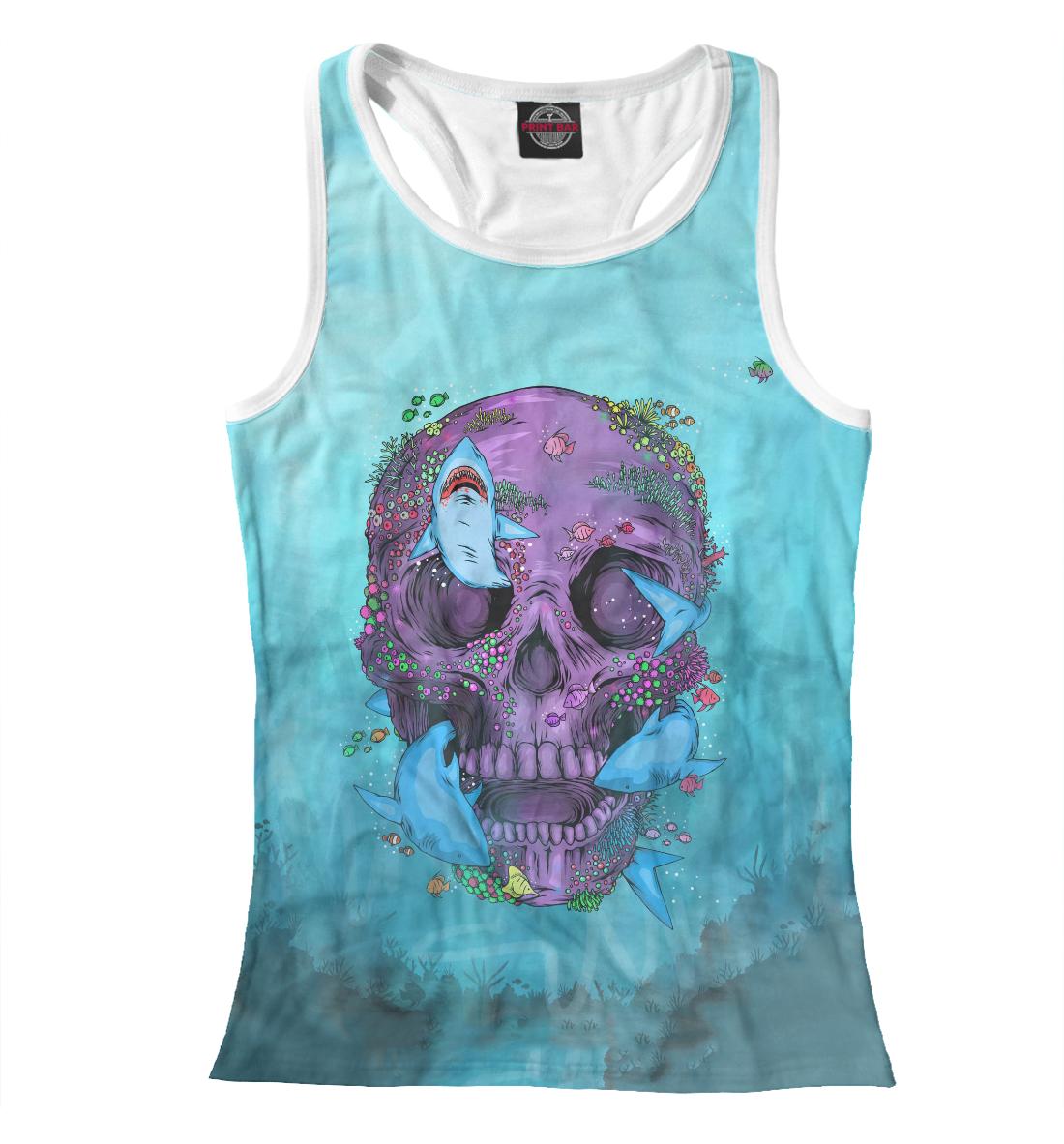 Купить Sea Skull, Printbar, Майки борцовки, HIP-265177-mayb-1