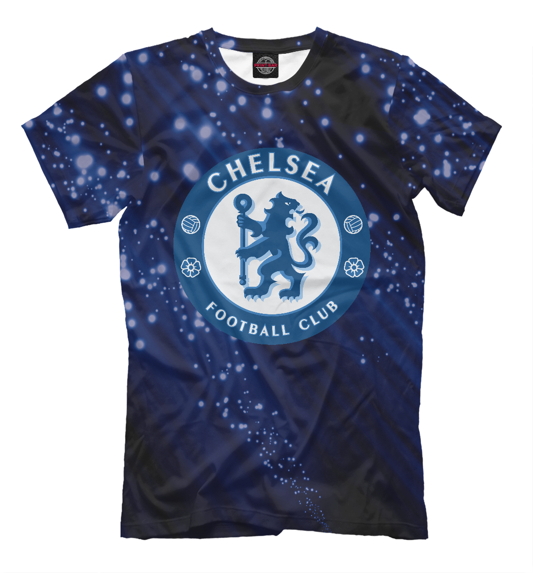 Купить FC Chelsea Abstract Collection, Printbar, Футболки, CHL-759262-fut-2