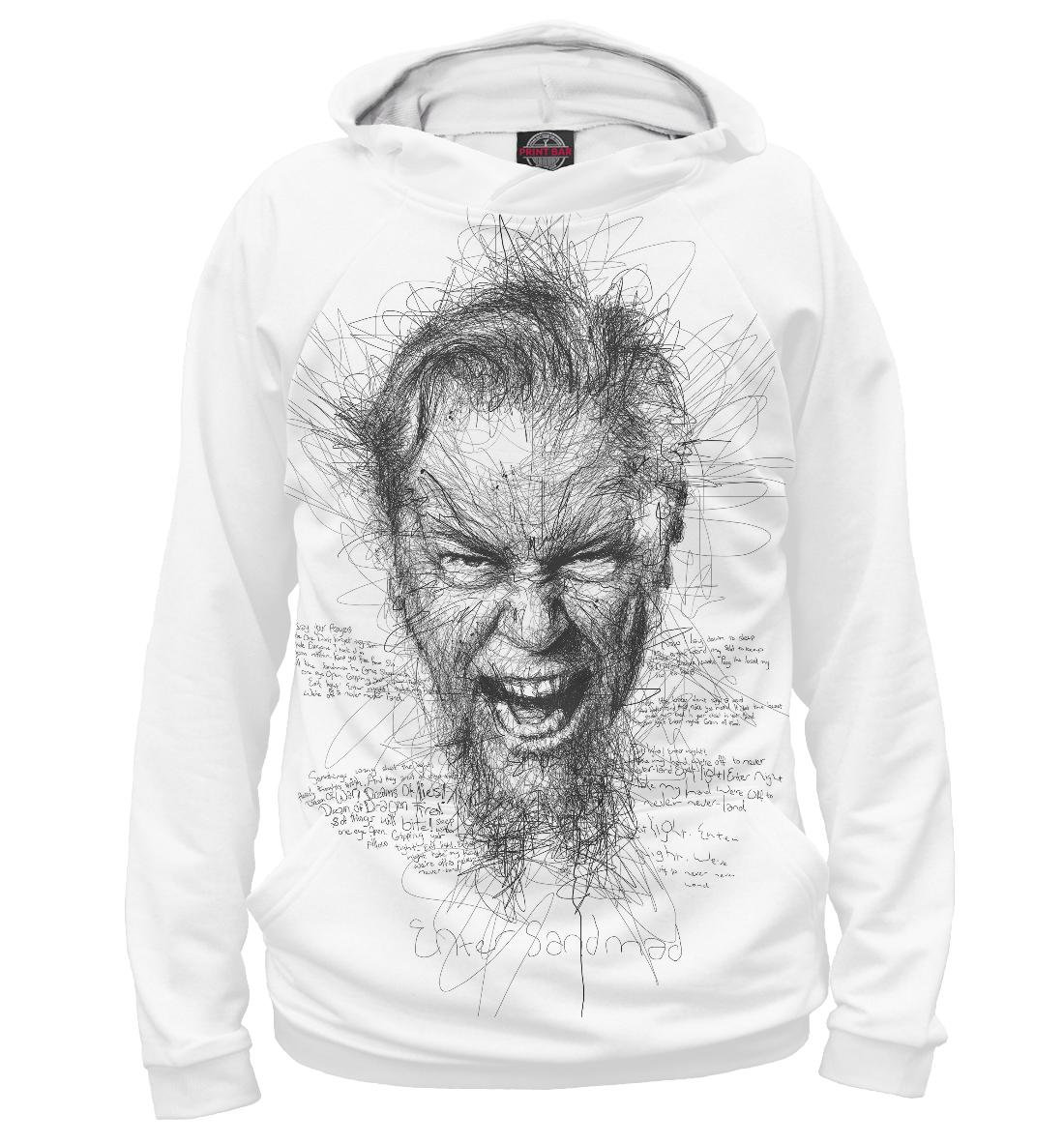 Купить Metallica Джеймс Хэтфилд, Printbar, Худи, MET-844849-hud-2