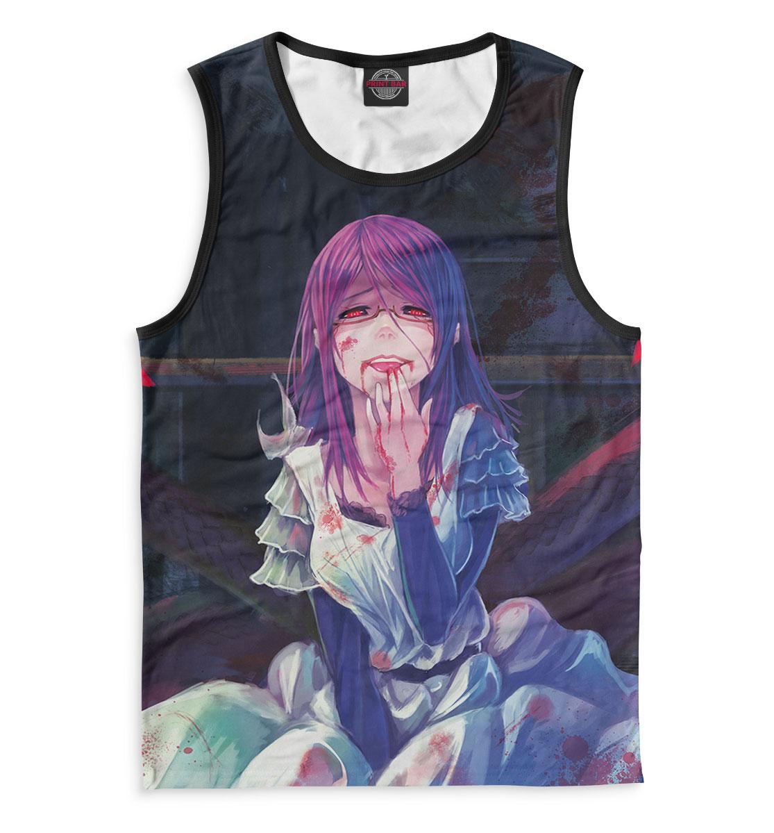 Купить Tokyo Ghoul, Printbar, Майки, TKG-833662-may-2