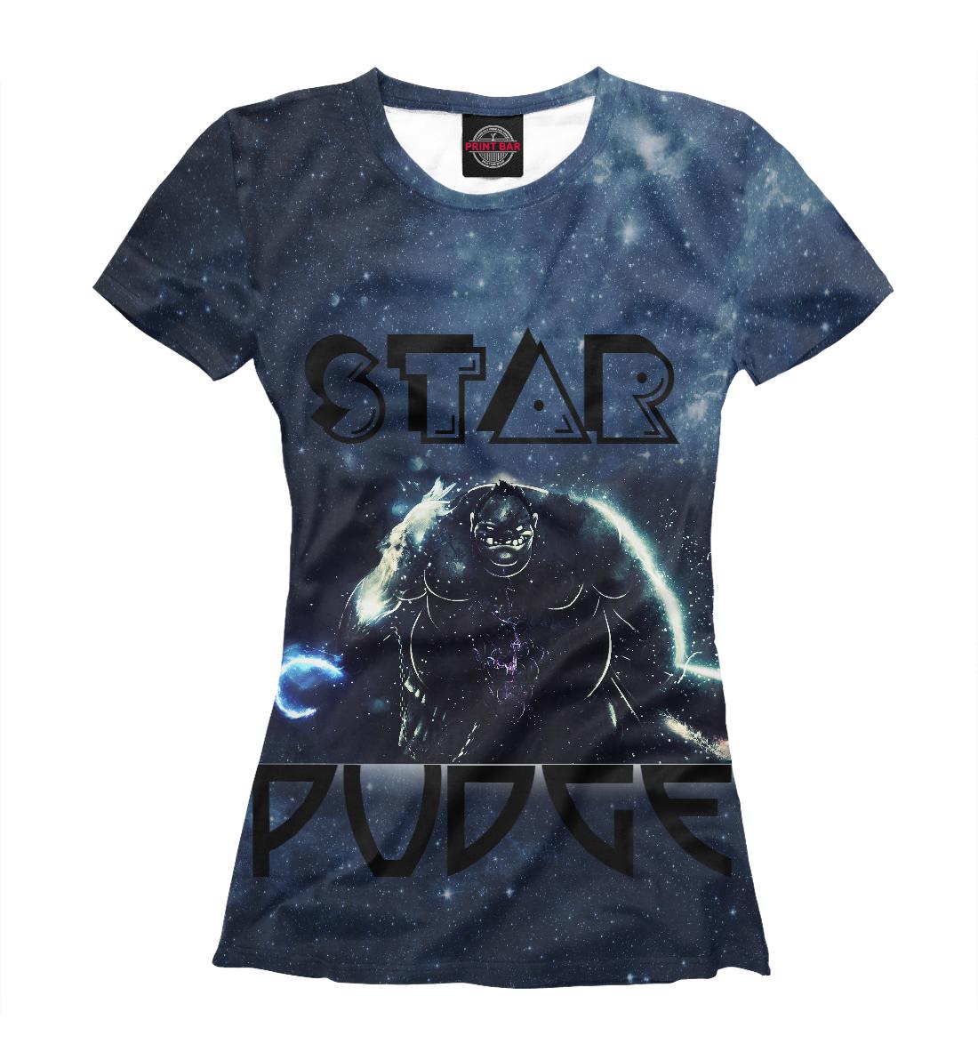 Купить Звёздный Пудж (Star Pudge), Printbar, Футболки, DO2-935955-fut-1