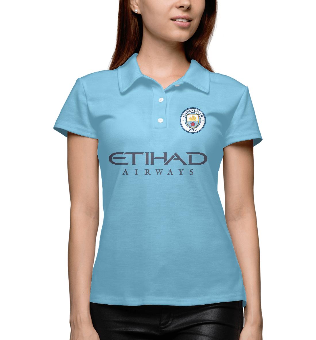 Купить Манчестер Сити, Printbar, Поло, MNC-920292-pol-1