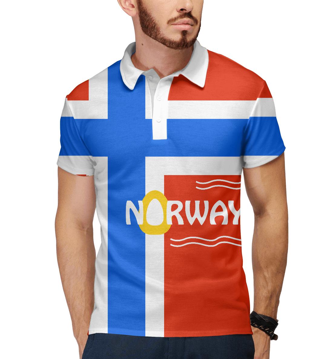 Купить Норвегия, Printbar, Поло, CTS-292150-pol-2