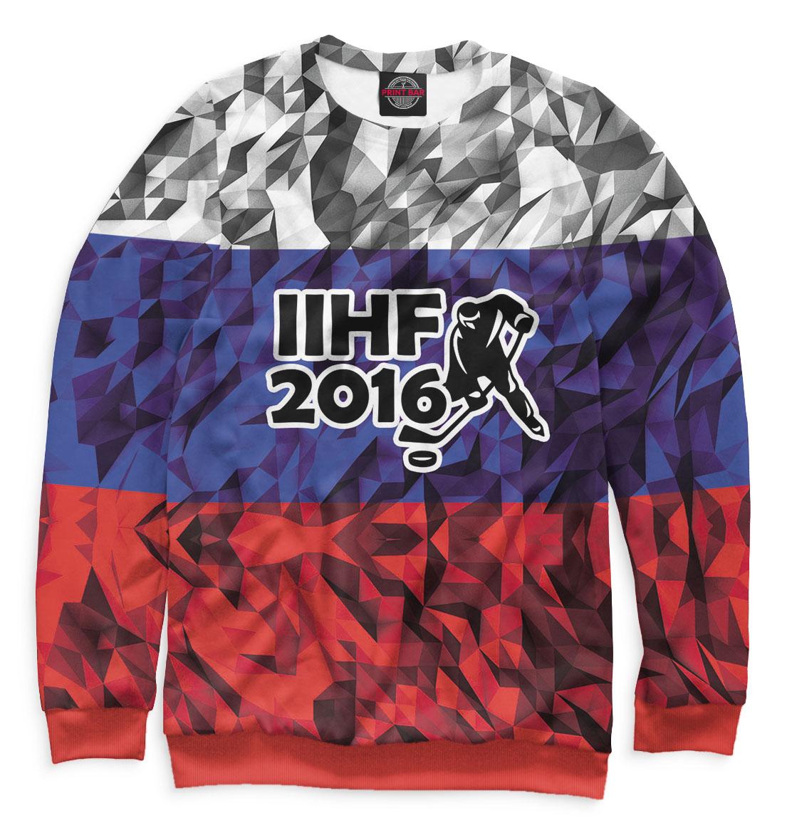 Купить ЧМ по хоккею 2016, Printbar, Свитшоты, HOK-962837-swi-2