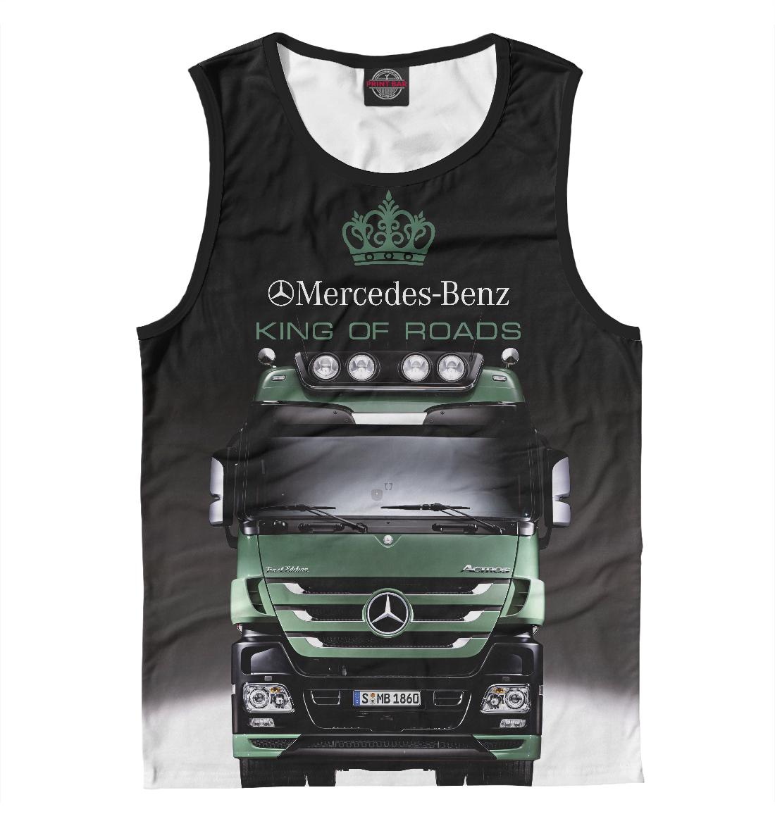Купить MERCEDES - король дорог, Printbar, Майки, GRZ-745563-may-2