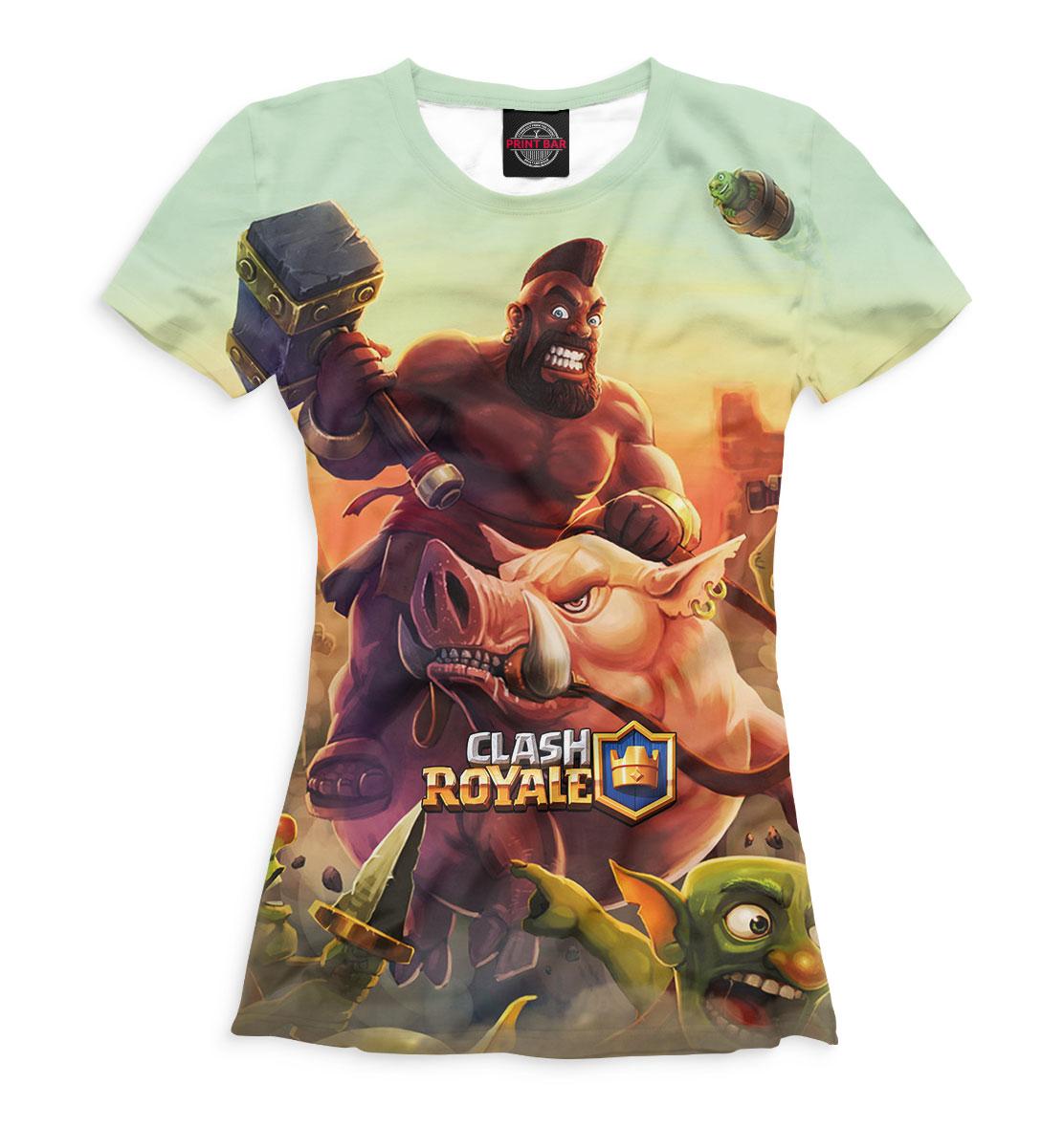 Купить Clash Royale, Printbar, Футболки, CLH-881311-fut-1