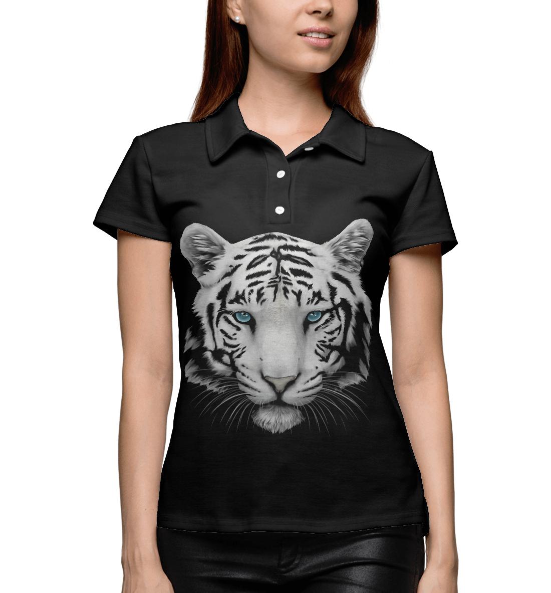 Купить Белый тигр, Printbar, Поло, HIS-263236-pol-1