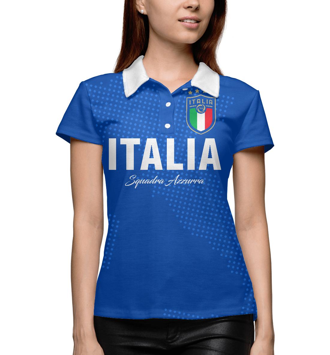 Купить Италия, Printbar, Поло, FNS-186686-pol-1
