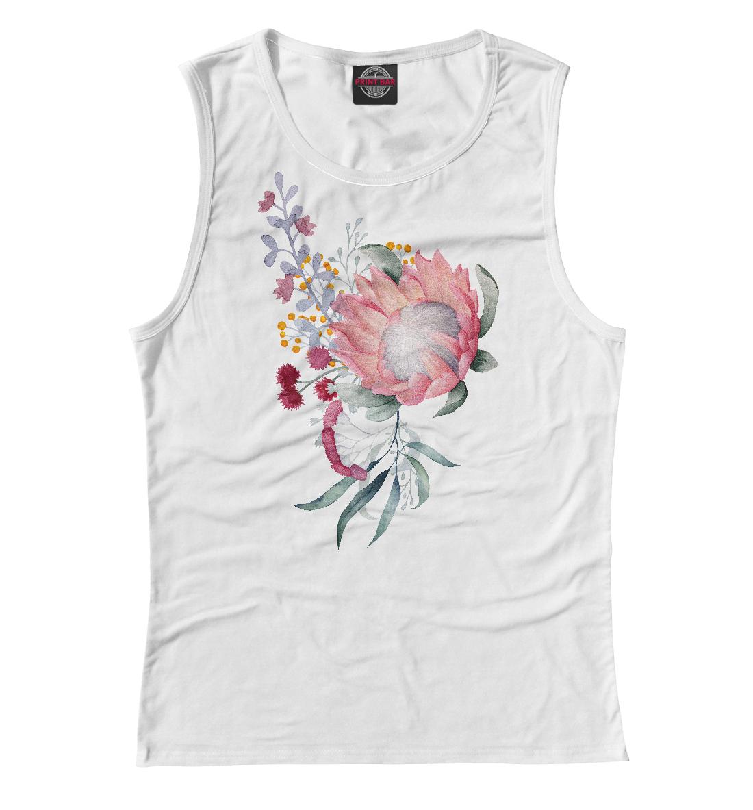 Букет цветов юбка карандаш укороченная printio букет цветов