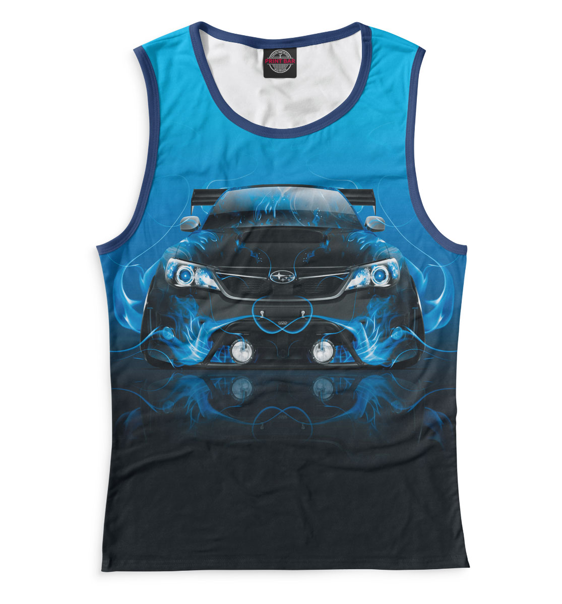 Купить Subaru, Printbar, Майки, SBR-741658-may-1