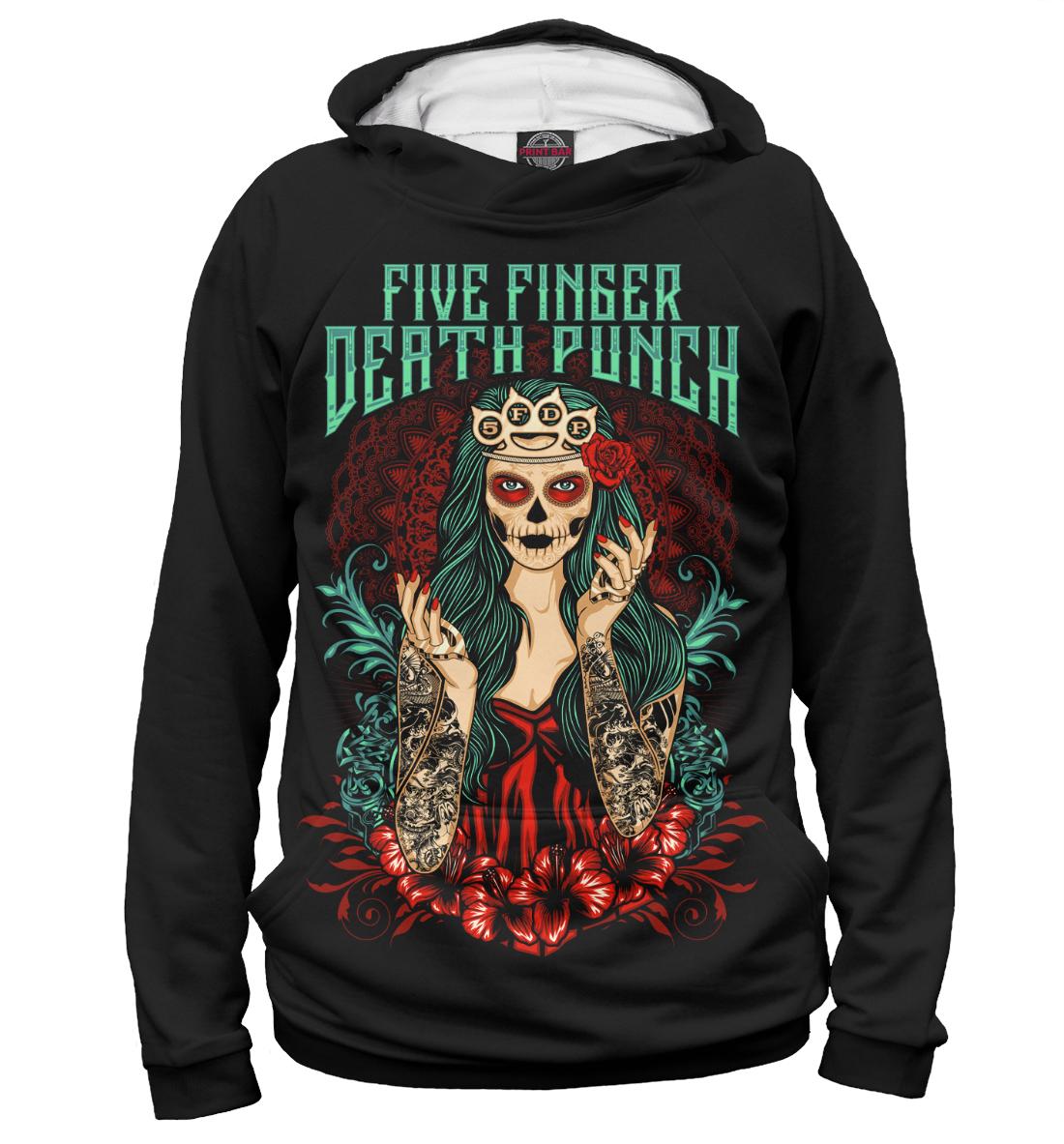 Купить Five Finger Death Punch, Printbar, Худи, FFD-251305-hud-1