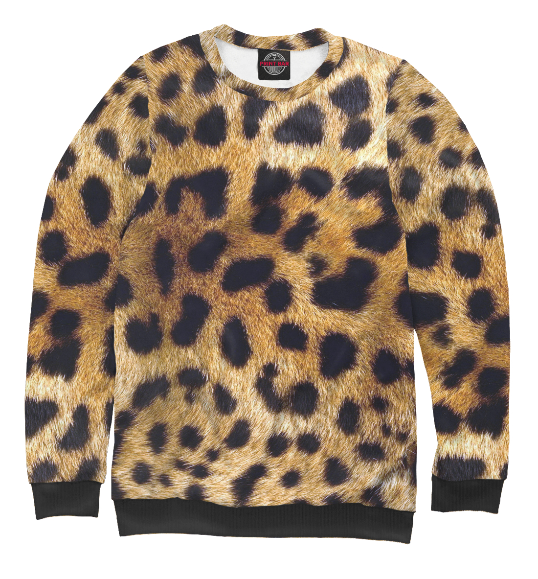 Купить Леопард, Printbar, Свитшоты, OKR-877173-swi-1