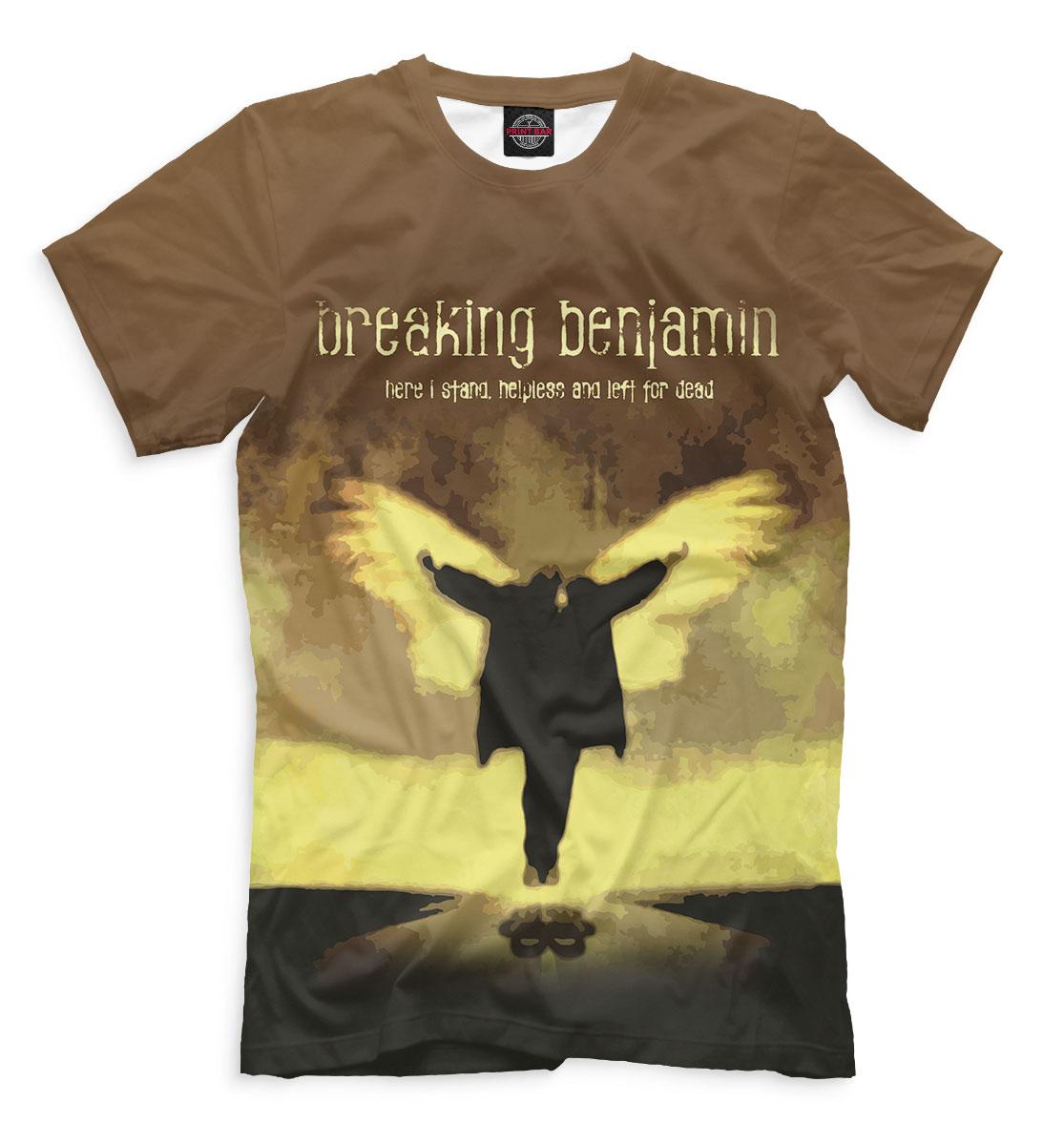 Купить Breaking Benjamin, Printbar, Футболки, BNJ-213191-fut-2
