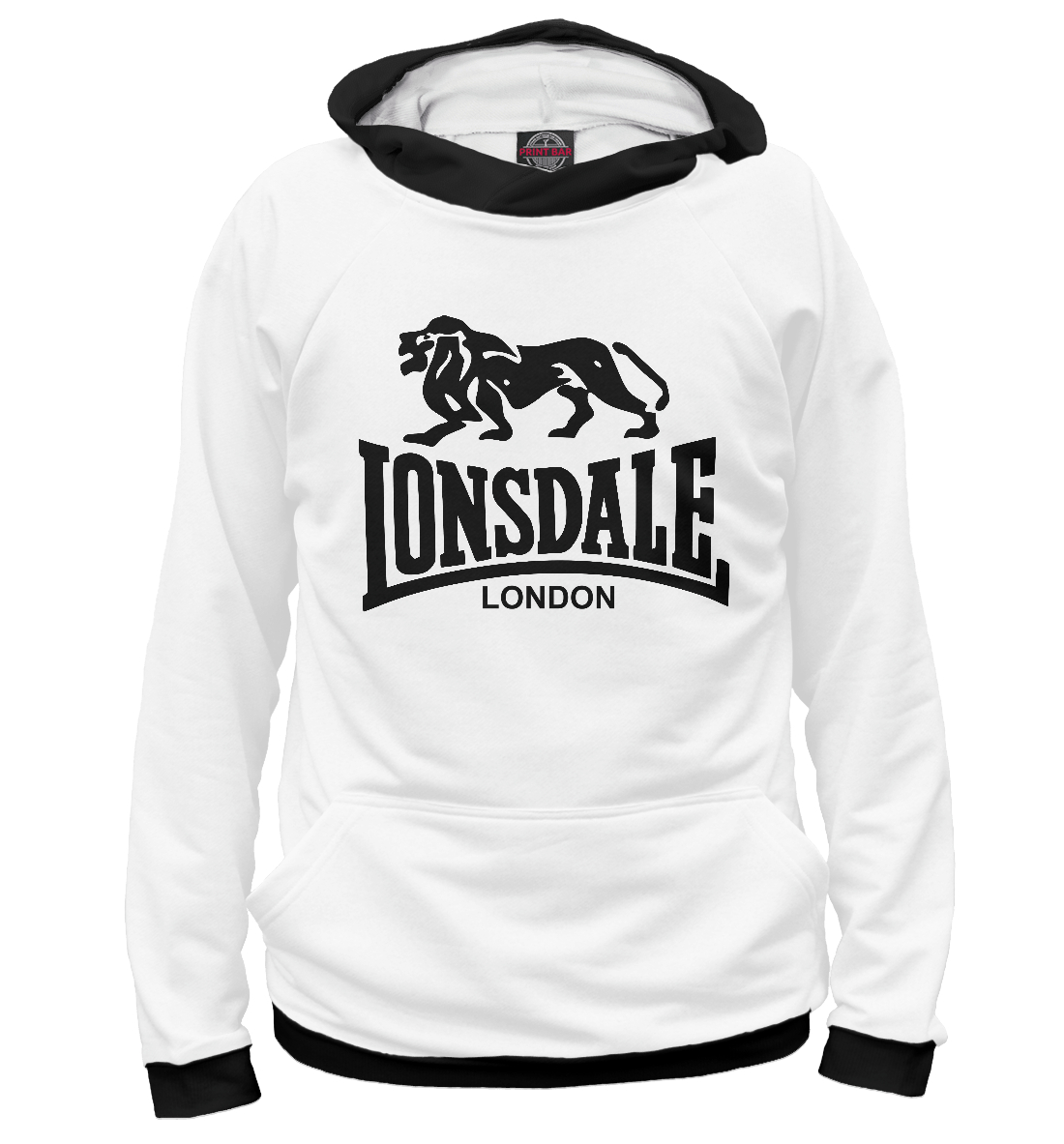 Купить Lonsdale London, Printbar, Худи, APD-372878-hud-1