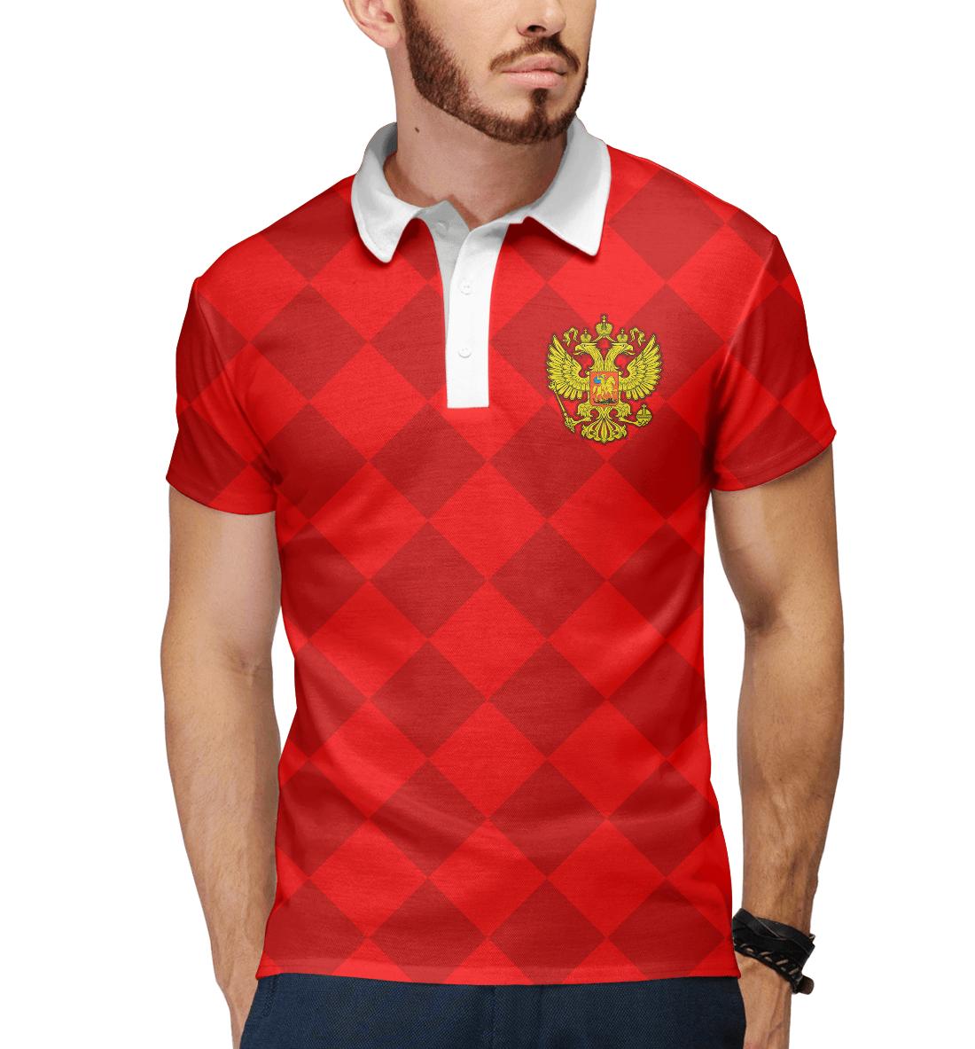 Купить Сборная России, Printbar, Поло, FNS-987504-pol-2