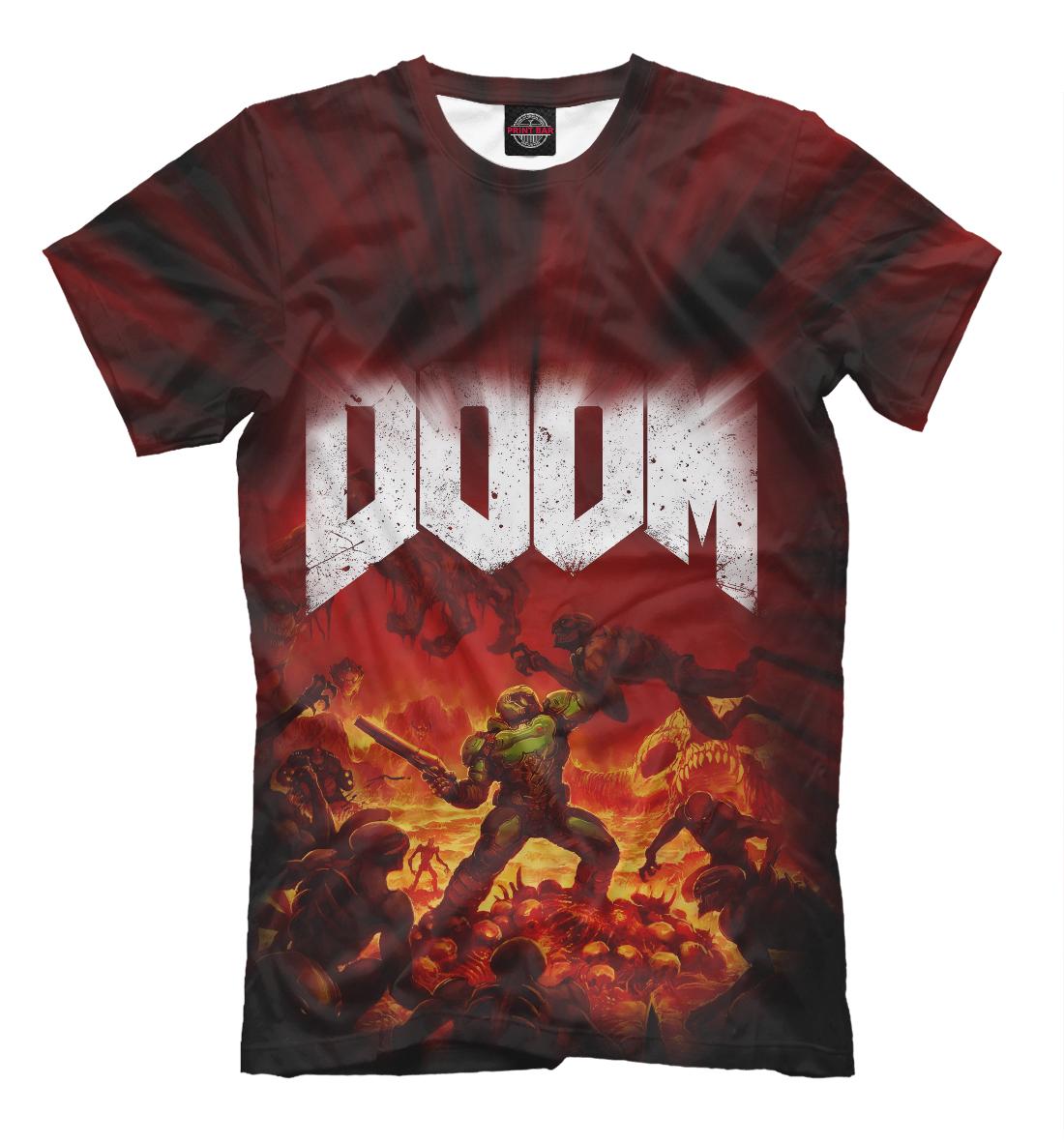 Купить Doom 2016, Printbar, Футболки, RPG-380416-fut-2