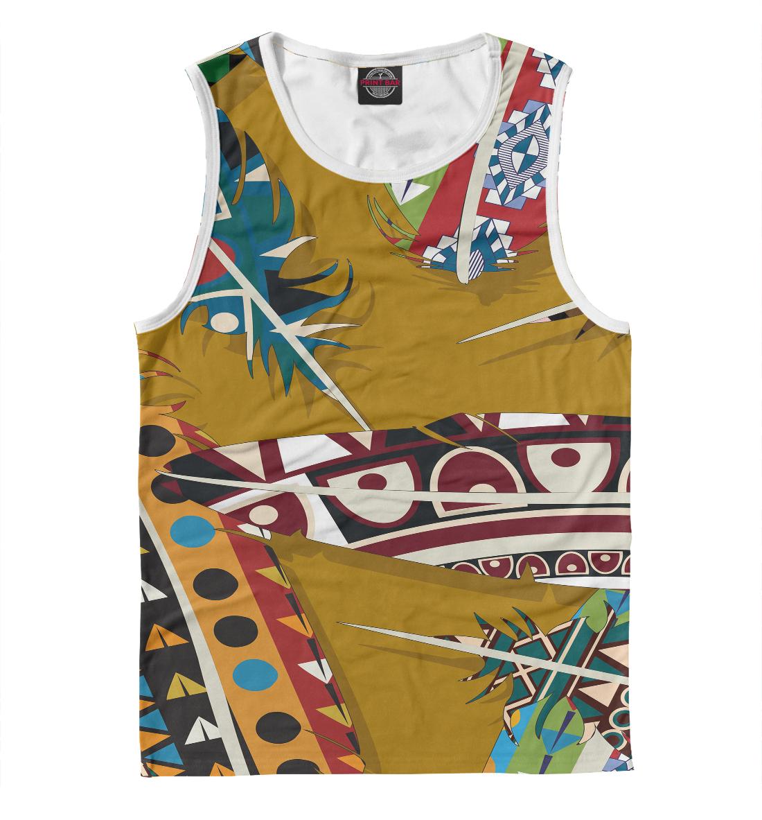 Купить Африканский стиль, Printbar, Майки, BCH-268265-may-2