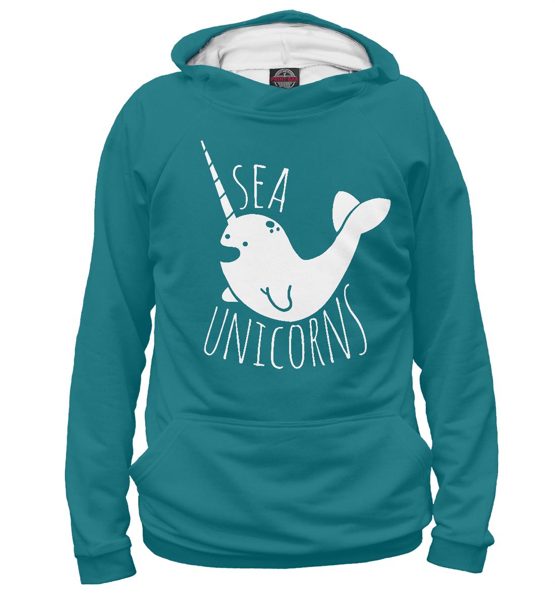 Купить Морской единорог, Printbar, Худи, UNI-543547-hud-2