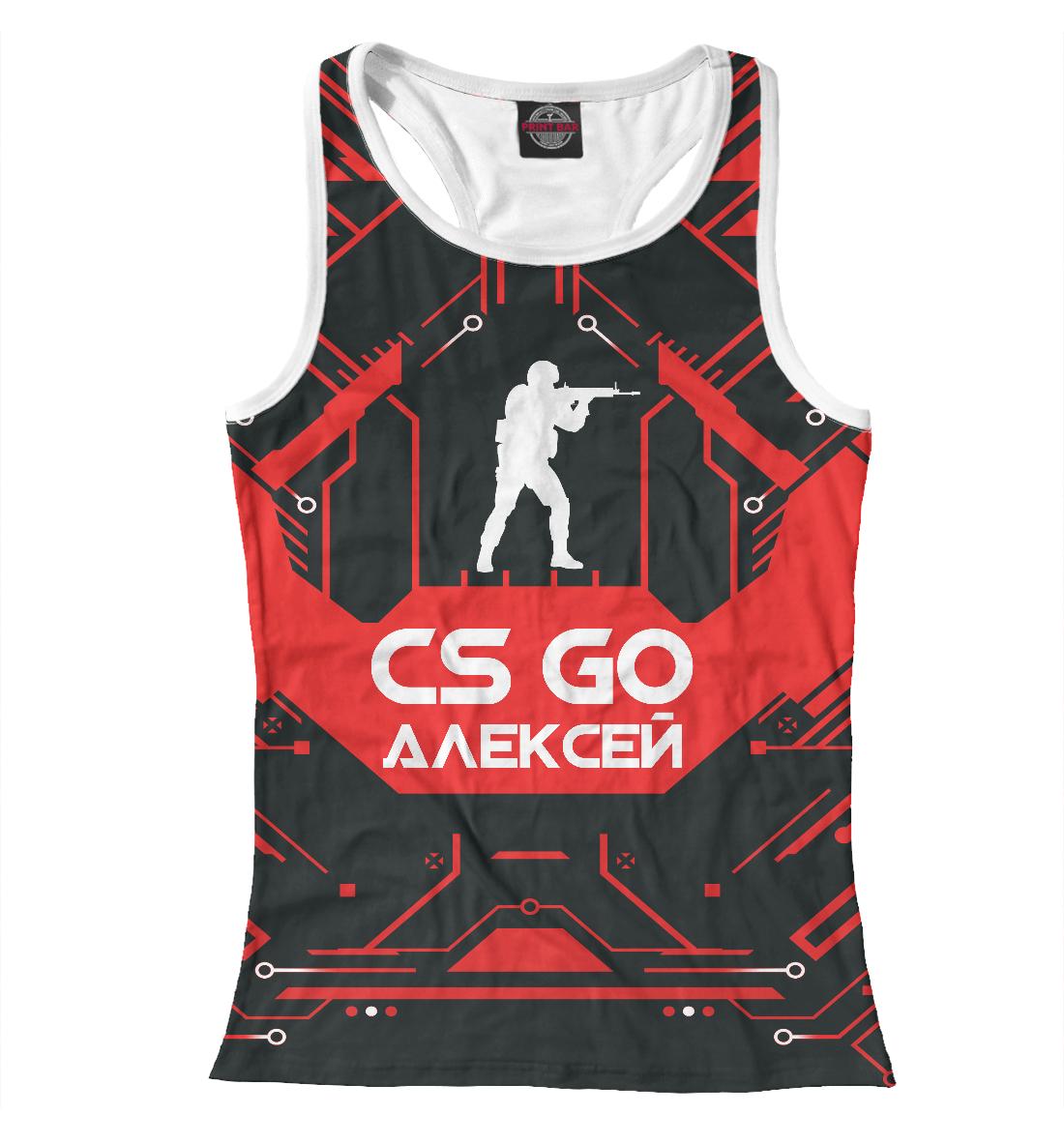 Купить Алексей в стиле CS GO, Printbar, Майки борцовки, ALE-645685-mayb-1
