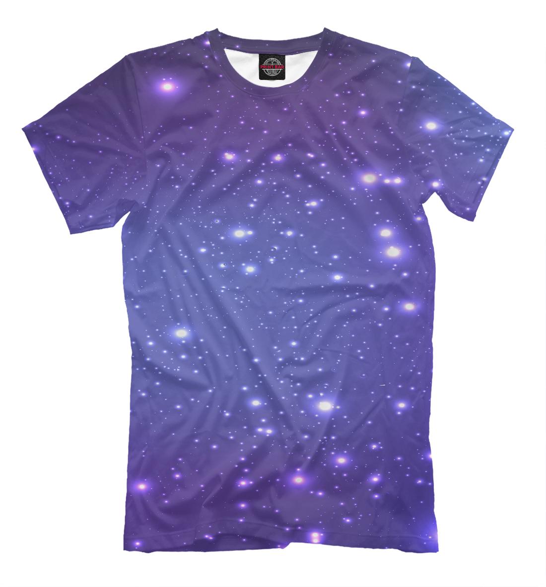Купить Абстрактный космос, Printbar, Футболки, ABS-794078-fut-2