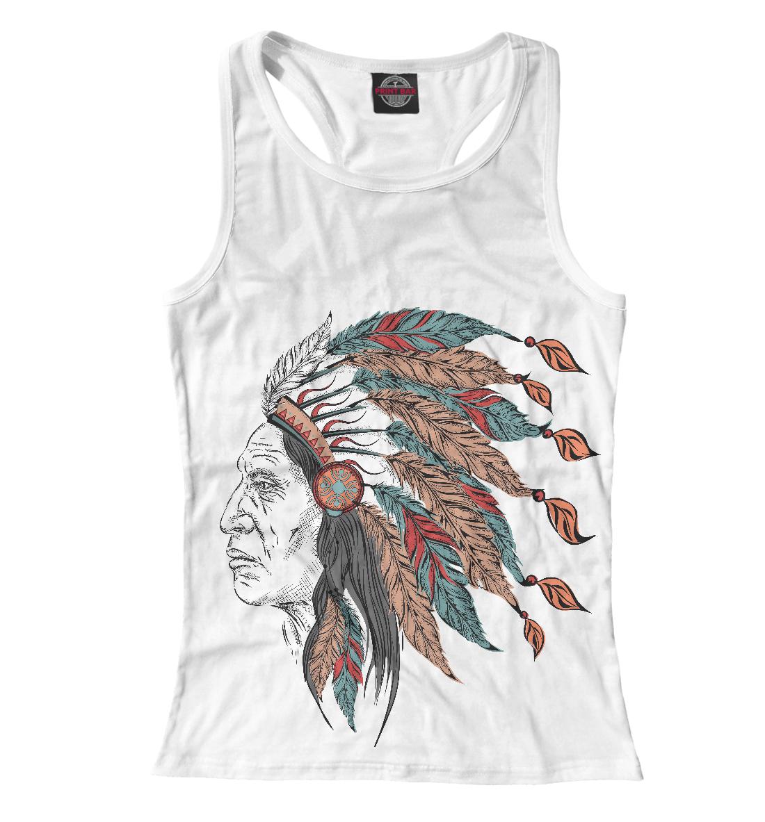 Купить Wise Indian, Printbar, Майки борцовки, HIP-609424-mayb-1