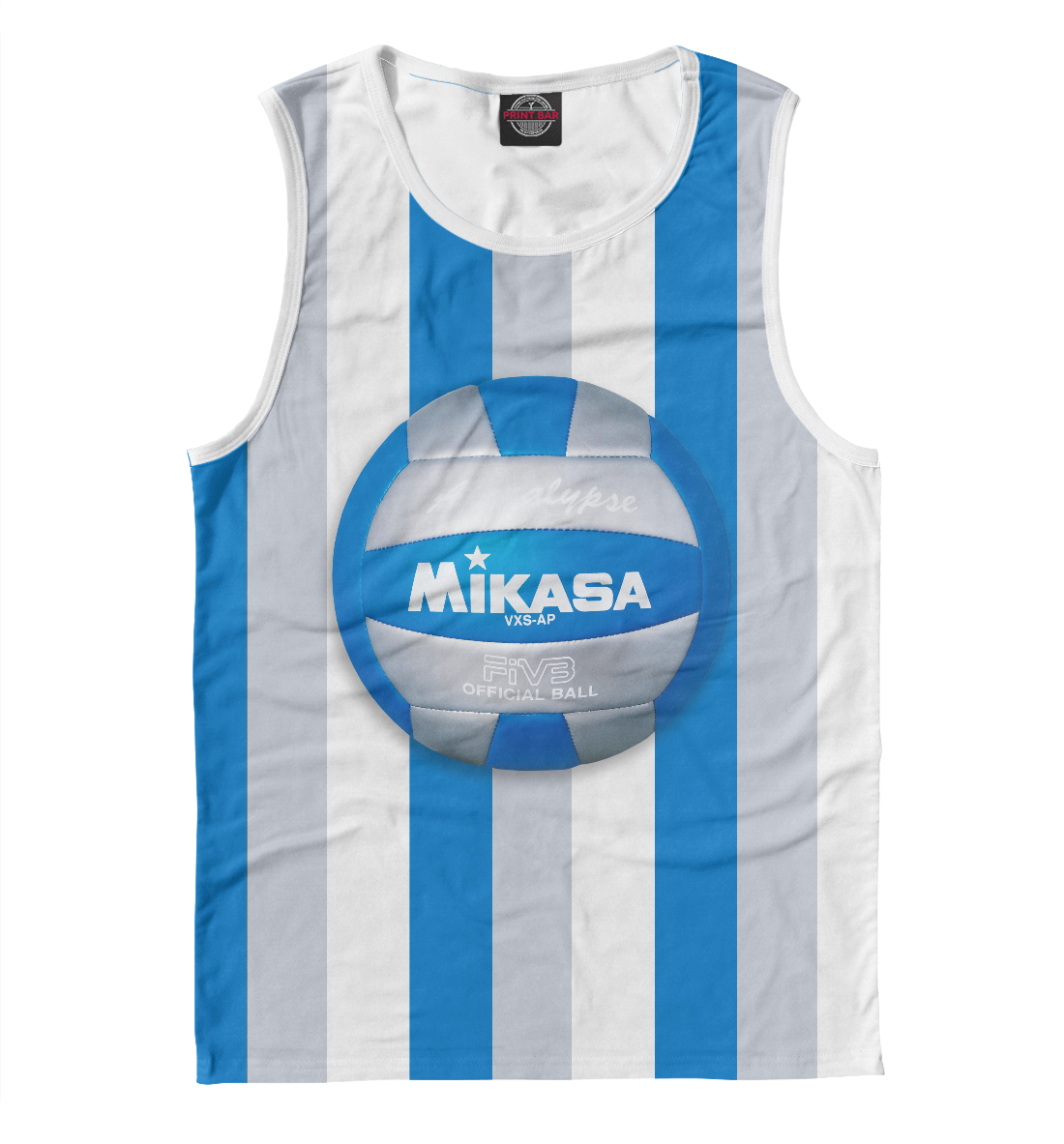 Купить Beach volleyball (Mikasa), Printbar, Майки, VLB-865969-may-2