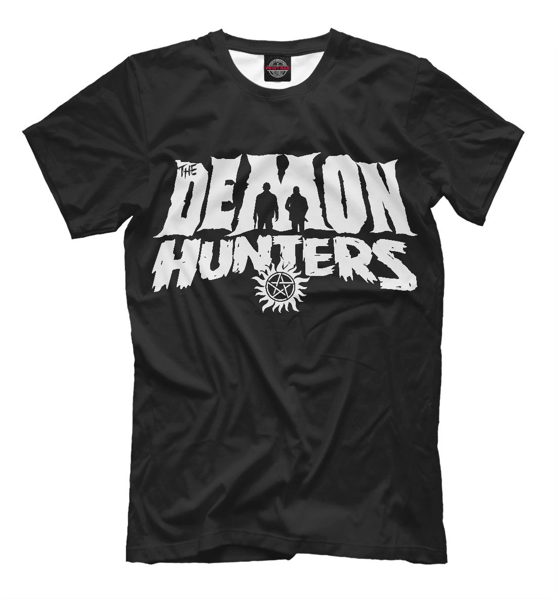 Купить Demon Hunters, Printbar, Футболки, SVE-108532-fut-2