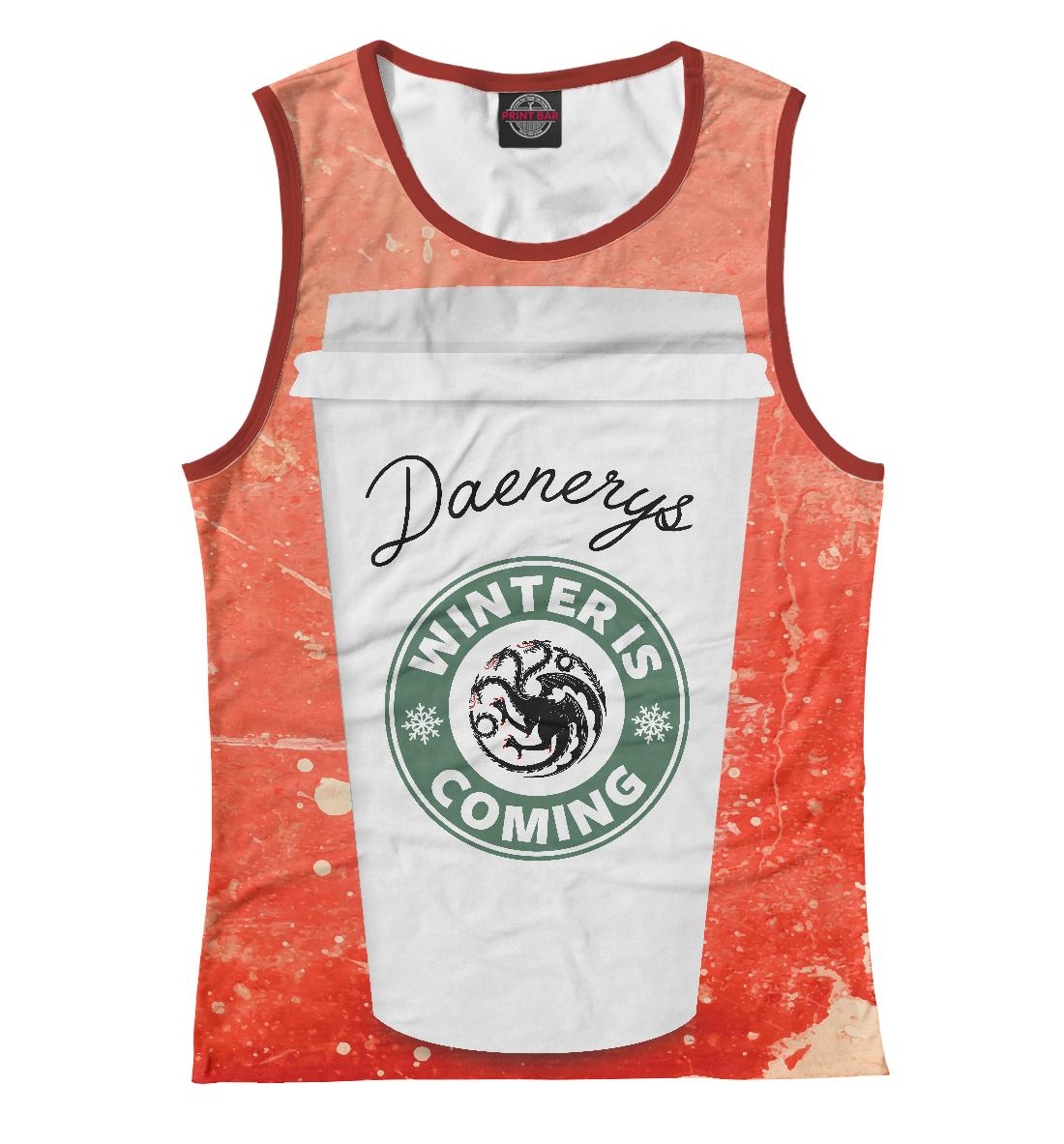 Купить Кофе для Дейенерис, Printbar, Майки, IGR-756831-may-1