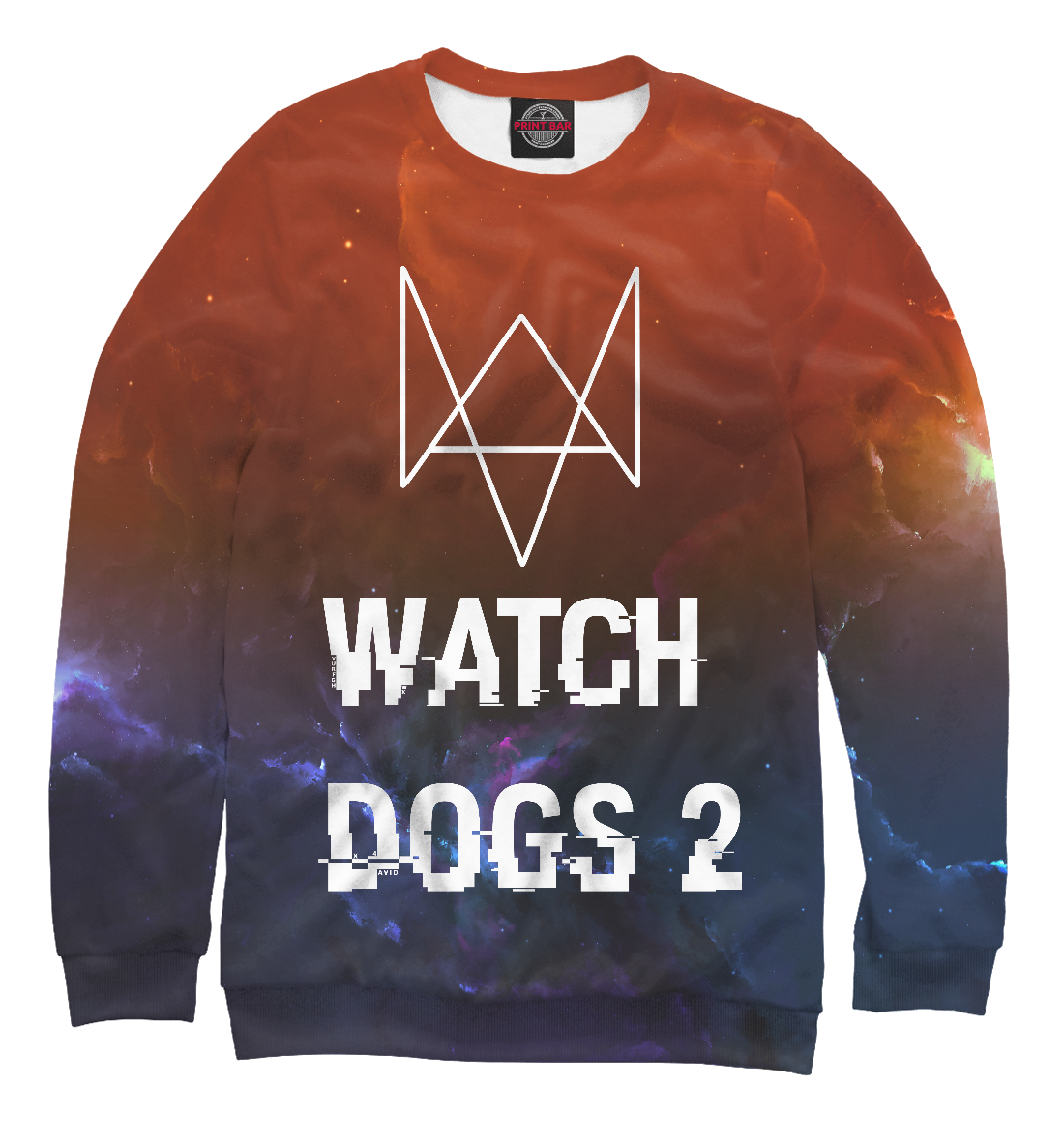 Купить Wath dogs 2 space collection, Printbar, Свитшоты, WTD-794112-swi-2