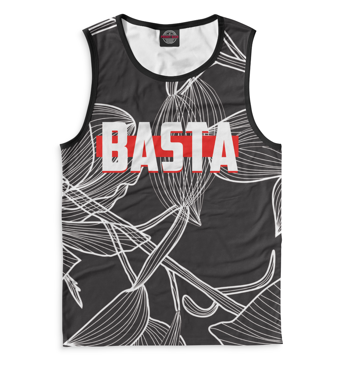 Купить Баста, Printbar, Майки, BST-102363-may-2