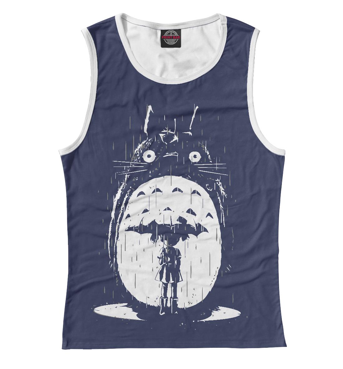Купить Totoro in Rain, Printbar, Майки, SGH-732282-may-1