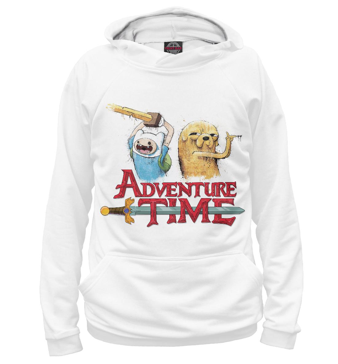 Купить Adventure Time Finn and Jake, Printbar, Худи, ADV-109309-hud-2