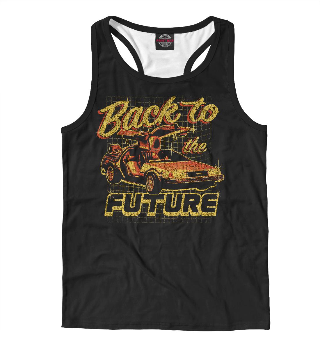 Купить Назад в будущее, Printbar, Майки борцовки, KNO-142460-mayb-2